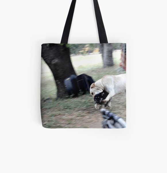 Ranch Puppies All Over Print Tote Bag