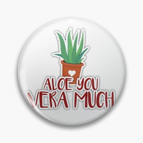 Aloe you vera much Pin