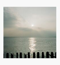 tranquil sea Photographic Print