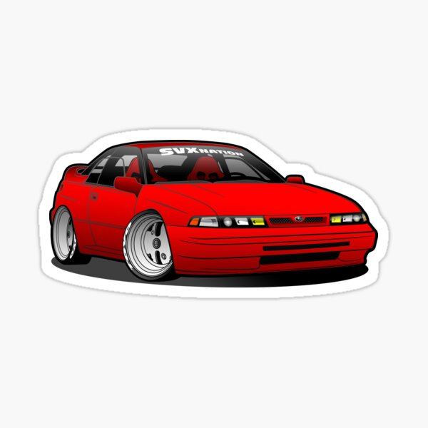 Red Proto SVX Nation Sticker