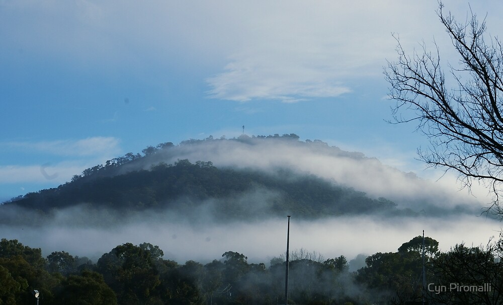 Mt Ainslie Cloud by Cyn Piromalli