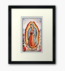 La Virgen Framed Print