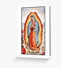 La Virgen Greeting Card