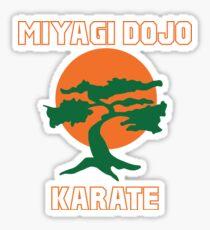 Miyagi Dojo Karate Sticker