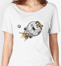 Camiseta ancha para mujer Jebbin '