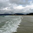 Storm Brewing - Luskentyre Beach by MidnightMelody