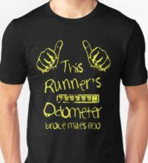 Runner's Broken Odometer T-Shirt