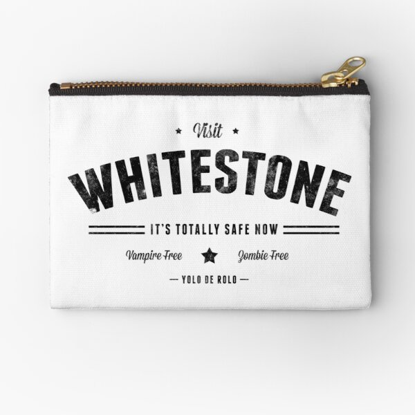 Critter: Beautiful Whitestone! Zipper Pouch