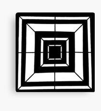 Square Bulls-eye  Canvas Print