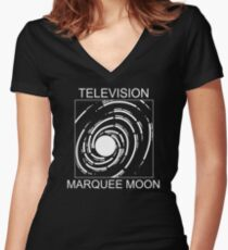Television Marquee Moon Women's Fitted V-Neck T-Shirt
