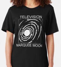 Camiseta ajustada Televisión Marquesina Luna