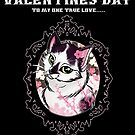 Happy Valentines Day... My Cat by Miss Cherry  Martini