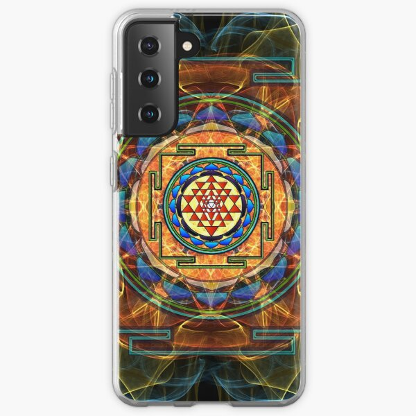 The Sri Yantra - Sacred Geometry Samsung Galaxy Soft Case