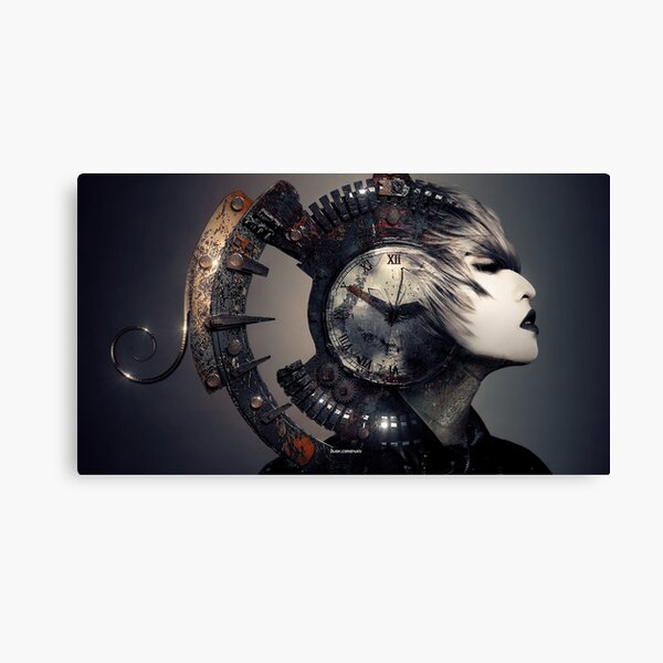 The Woman That Time Forgot Canvas Print