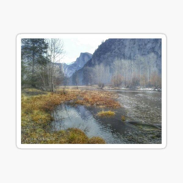 Yosemite National Park, Merced River Sticker