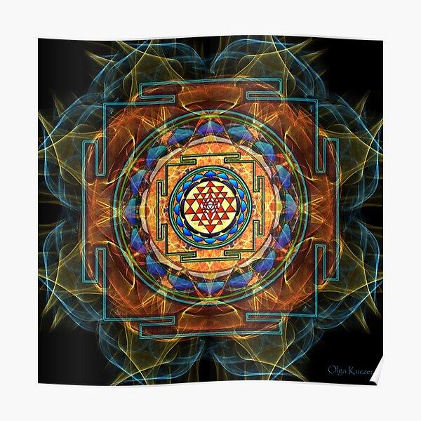 The Sri Yantra - Sacred Geometry Poster