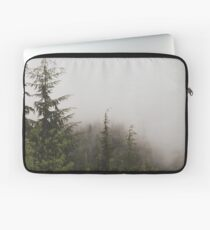 Foggy Pine Forest Nature Fine Art Photography 0050 Laptop Sleeve