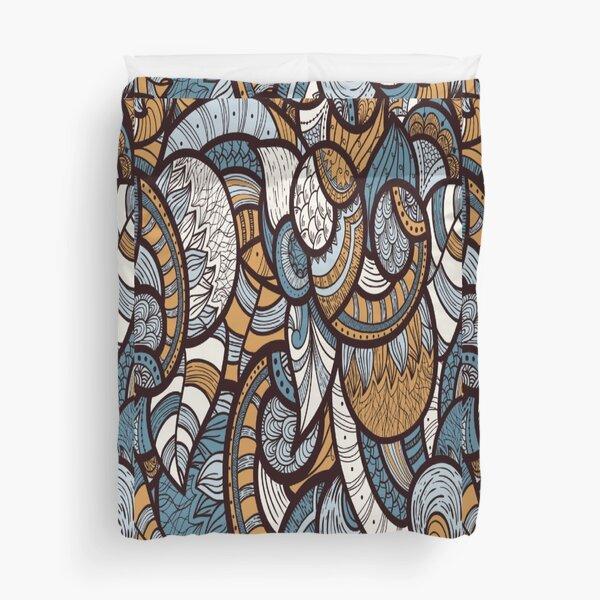 optical illusion art work Duvet Cover