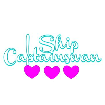 I Ship CaptainSwan by sprinkleofmia