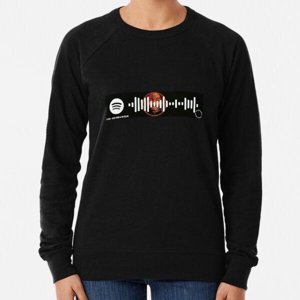 #1555 - Alex Jones and Tim Dillon - Spotify Code Lightweight Sweatshirt