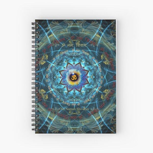 """Om Namah Shivaya"" Mantra- The True Identity- Your self. Spiral Notebook"