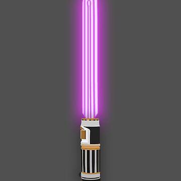 Star Wars - Mace Windu's Light 'Saver' by fabulouslypoor
