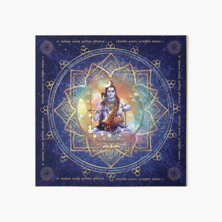 Shiva Mahamrityunjaya -  Health, Peace in Life & Prosperity  Art Board Print