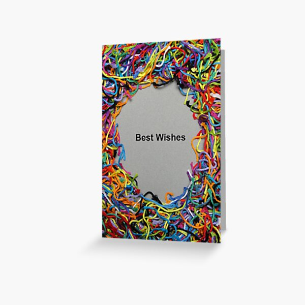 Card - Best Wishes Greeting Card