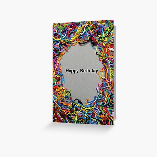 Card - Happy Birthday Greeting Card