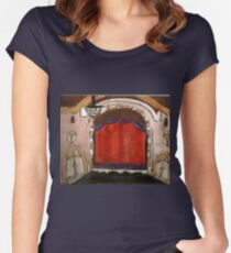 On Broadway(The Golden Theatre-NYC) Women's Fitted Scoop T-Shirt
