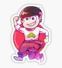 Jumpsuit matsu - Osomatsu Sticker