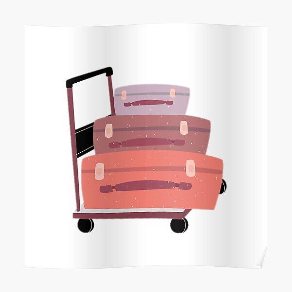 Luggage to platform 9 3-4  Poster