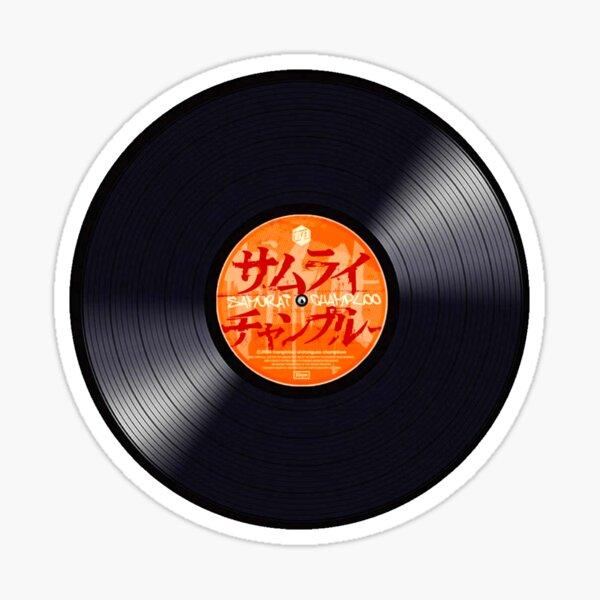 Disco de vinilo Samurai Champloo Pegatina