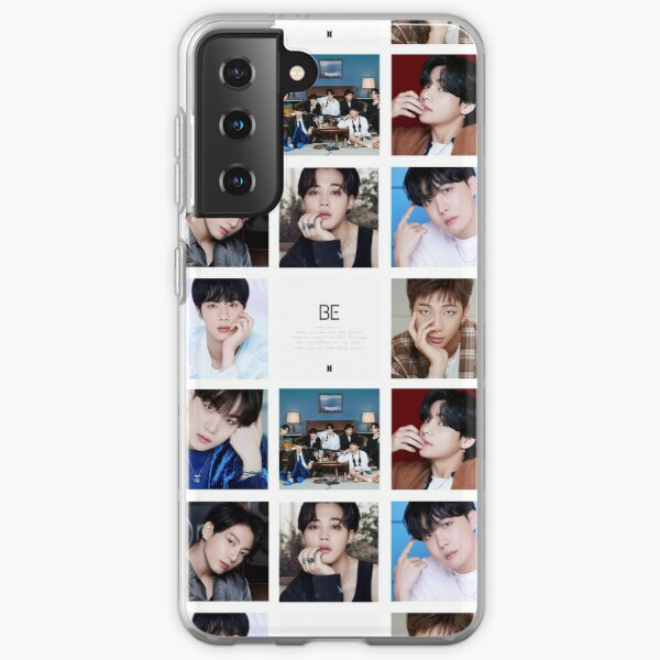 BTS BE collage ver. 2 Samsung Galaxy Soft Case