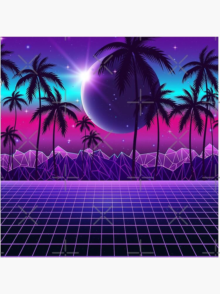 Twilight Retrowave by MaiZephyr
