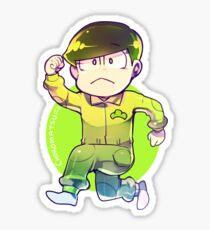 Jumpsuit matsu - Choromatsu Sticker