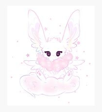 cotton candy space Photographic Print
