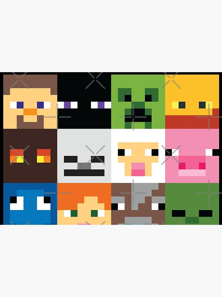 Face Minecraft by slvdesign