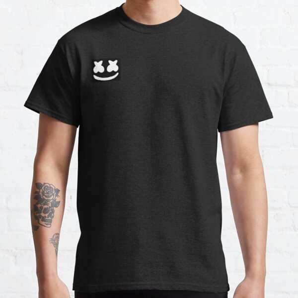 Marshmello Smiley Design Brand Classic T-Shirt