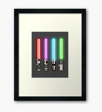 Star Wars - All Light Savers  Framed Print