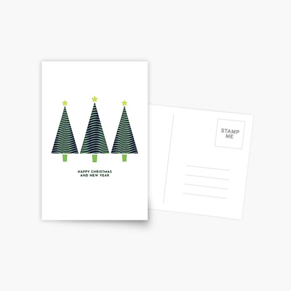 Three Trees Postcard