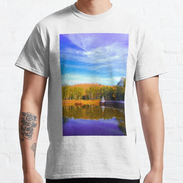 Temple Reflection - Indian Countryside Classic T-Shirt