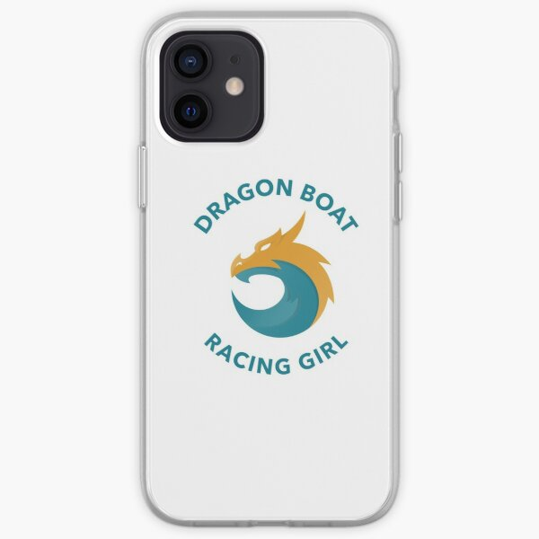 Dragon Boat Racing Girl iPhone Soft Case