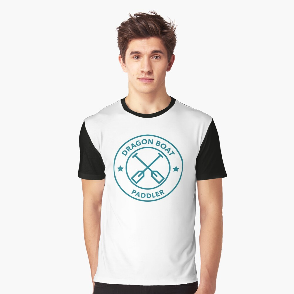 Dragon Boat Paddler Graphic T-Shirt