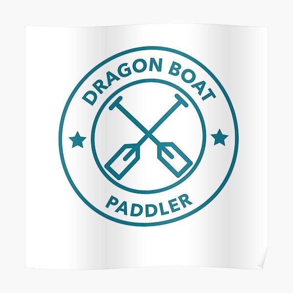 Dragon Boat Paddler Poster