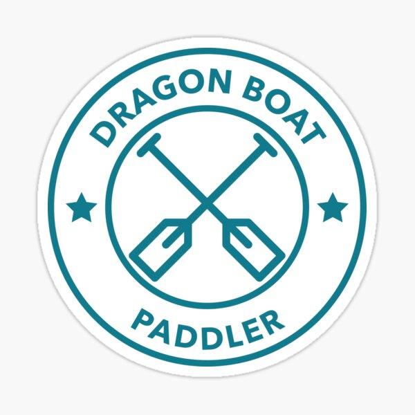Dragon Boat Paddler Sticker