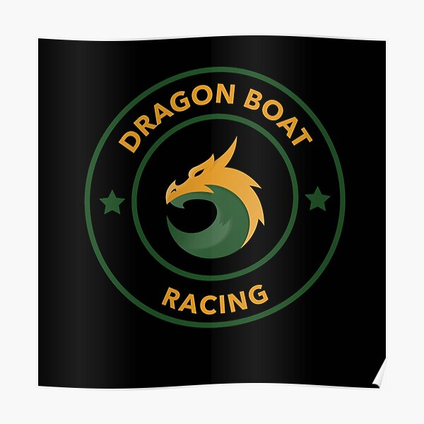 Dragon Boat Racing Poster