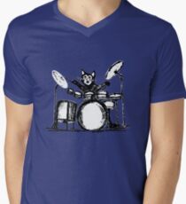 Drummer Cat T-Shirt