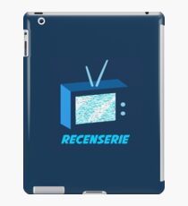 Recenserie Logo iPad Case/Skin