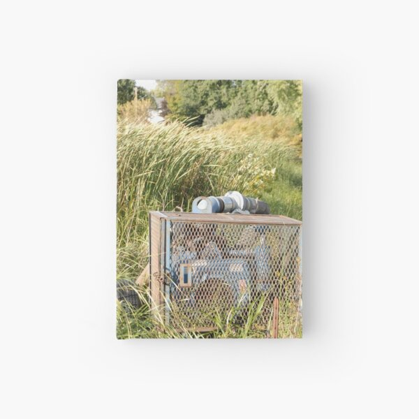 Sump Pump In The Reeds Hardcover Journal